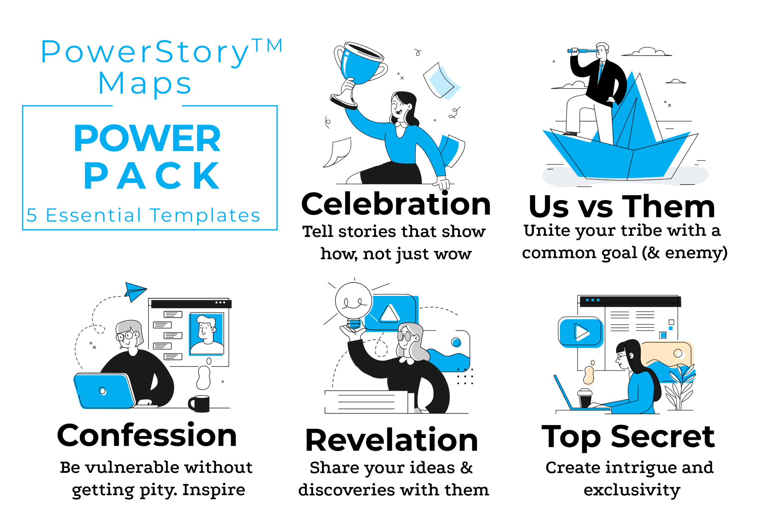 PowerStory Maps - PowerPack
